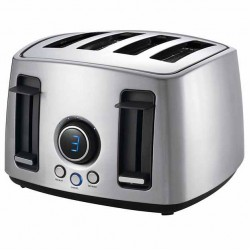 Superbe 4 Slice Countdown Stainless Steel Toaster