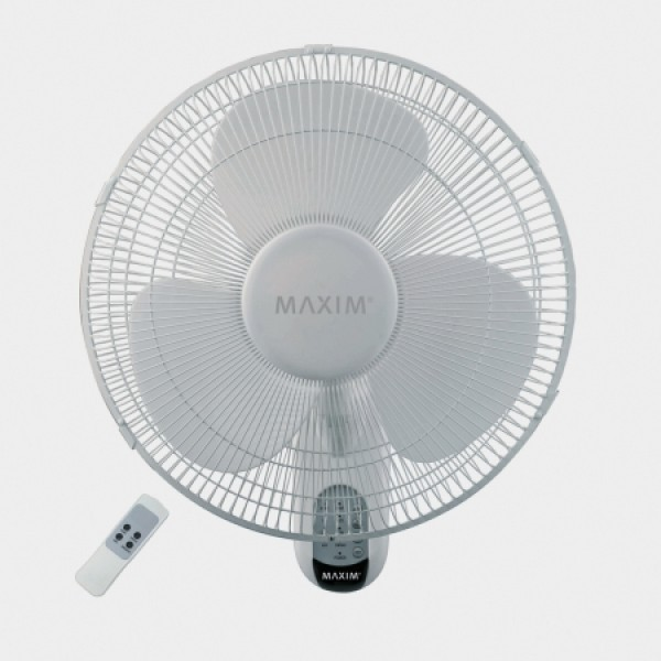 Wall Mount Fans With Remote : Maxim cm wall mounted fan with remote just electrical
