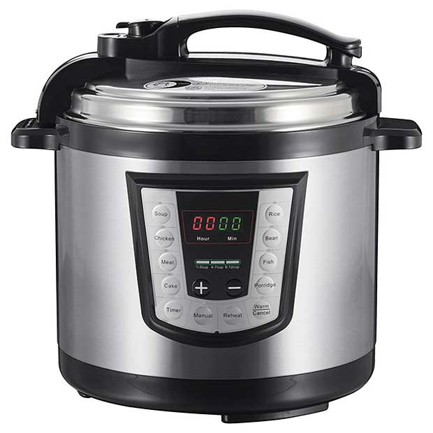 Power Cooker Digital Pressure Cooker ~ Stainless steel digital pressure cooker just electrical